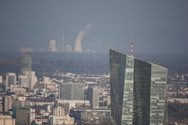 Frankfurt dalla Main Tower - particolare (inquietante)
